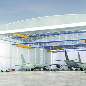 Hangar aérien